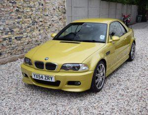 BMW 3 E46 M3 detailing Białystok