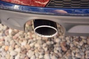 Audi A4 B9 detailing wydech